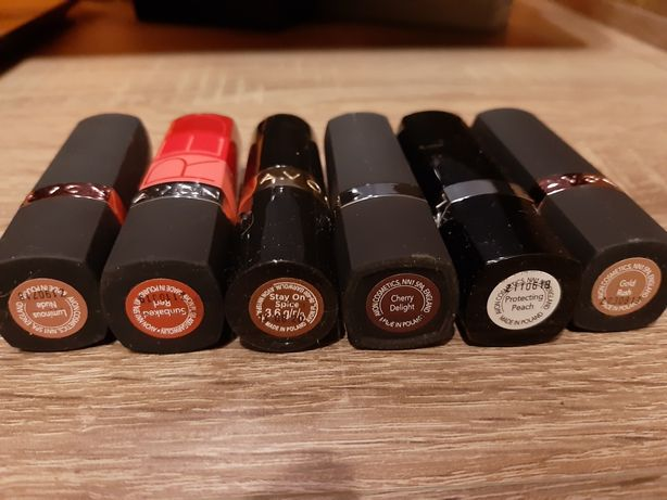 Nowe szminki Avon