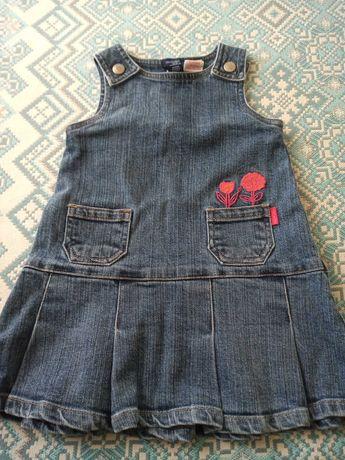 Sukienka jeansowa rozmiar 86