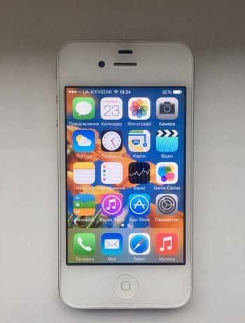 Мобільний телефон Apple iPhone 4 (8Gb) White. Original