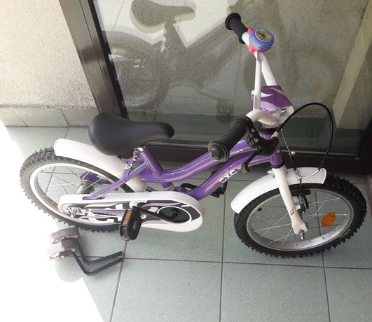 Rower dziewczęcy firmy Cross -G C-Xtreme koła 16 cali kółka boczne