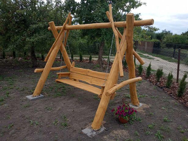 Promocja ! Huśtawka !Piękne masywne drewniane Huśtawki !