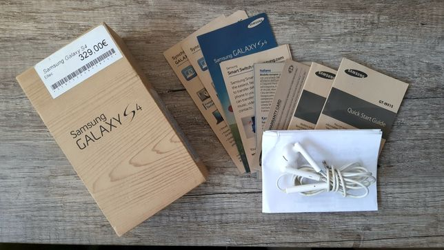Pudełko i akcesoria Samsung Galaxy S4