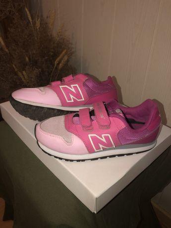 Кроссовки розовые New Balance 500