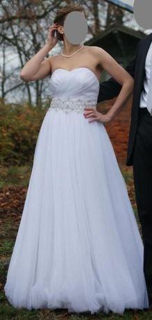 suknia ślubna agnes 10750 rozmiar 38