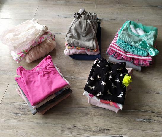 Paczka, zestaw ubranek dla dziewczynki r 92 (H&M, F&F i inne)