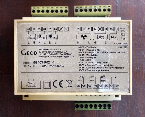 Sterownik Geco G-403 + gratis listwa