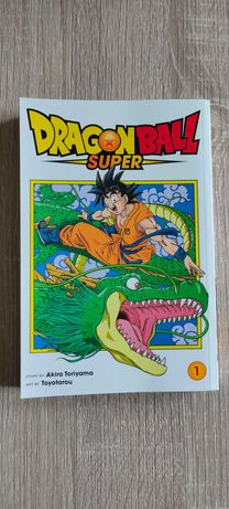 Dragon Ball Super Vol. 1 (Inglês) (& troco)