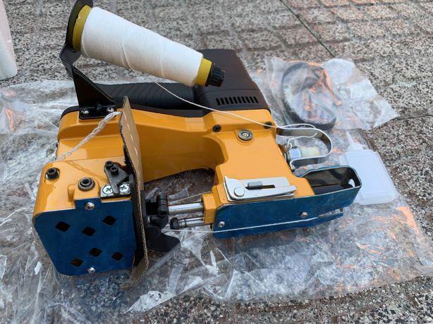 Maquinas Costura Selar Coser Embalar Fechar Sacos Ração Pellets envio