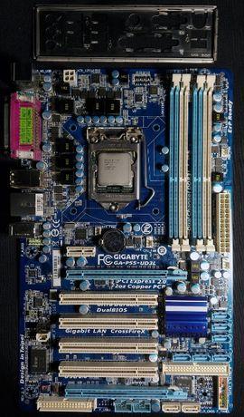 Комплект : Gigabyte GA-P55-UD3L s1156+ Intel Core i5-760 +16gb ОЗУ
