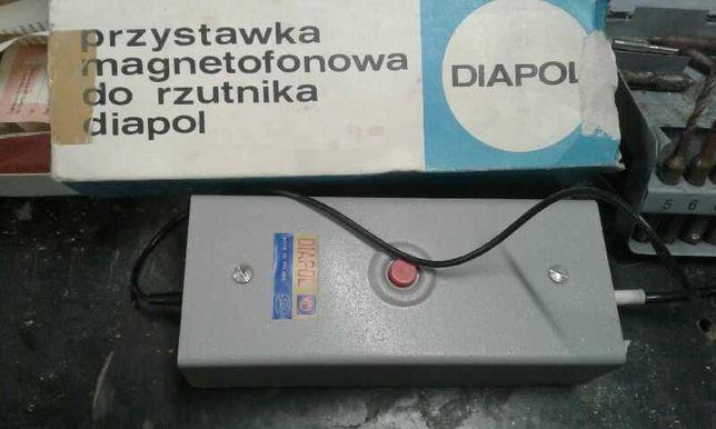 Przystawka magnetofonowa do rzutnika