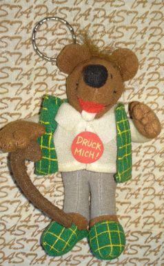МЯГКАЯ детская игрушка крыса трость в костюме тапках германия брелок