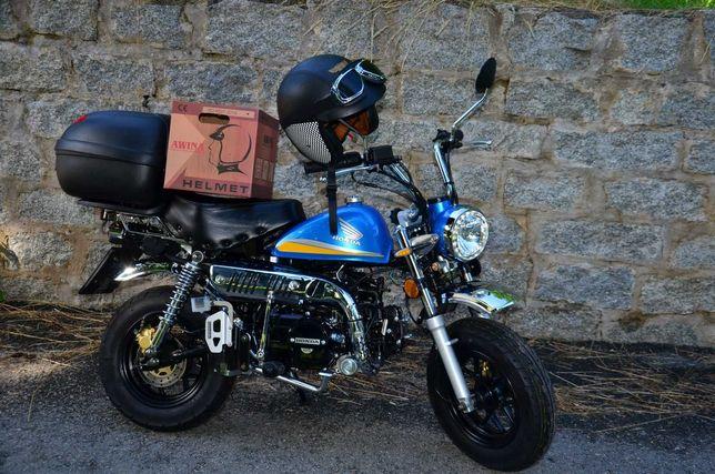 Honda Monkey NOWA 330km SkyTeam 125 Skymini Dax Motorynka Pony CAMPER