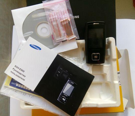 Мобильный телефон SAMSUNG E900 (полный комплект)