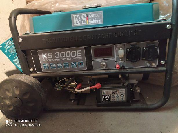 Prawie nowy agregat Könner & Söhnen KS 3000E