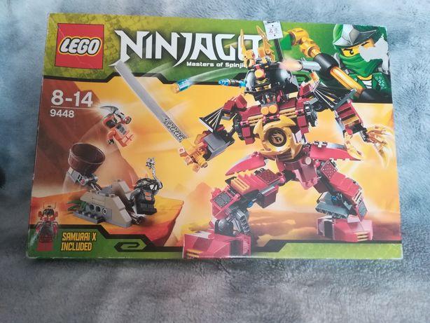 Nowy UNIKATOWY zestaw LEGO Ninjago Samurai X 9448