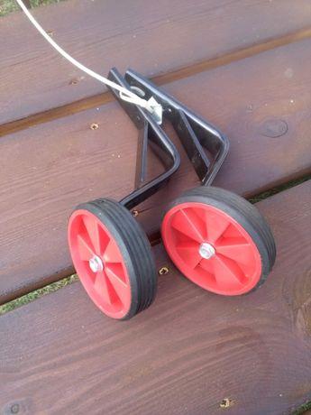 Kółka koła podporowe boczne do roweru Wzmocnione stabilne Nowe