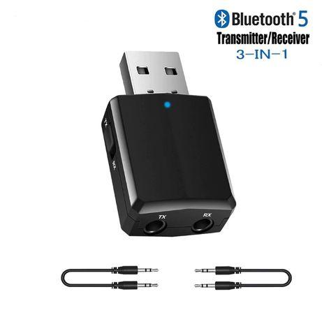USB блютуз адаптер AUX (блютуз приемник - передатчик)