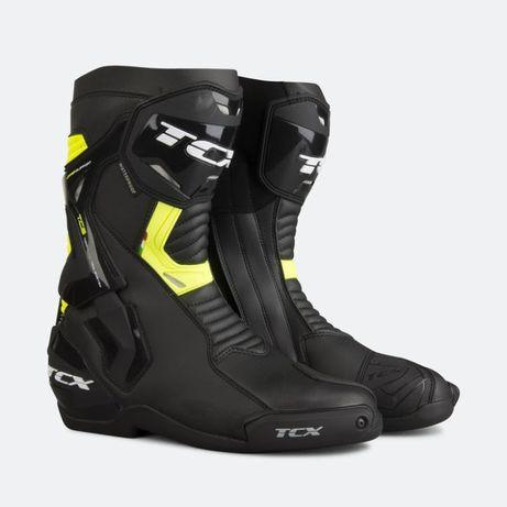 Buty sportowo turystyczne TCX ST-FIGHTER WP czarno żółte 44 29,2 cm