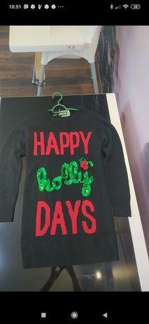 Sweterek świąteczny Primark r.S