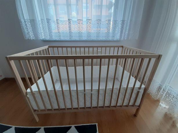 Łóżeczko dziecięce Ikea SNIGLAR 60×120