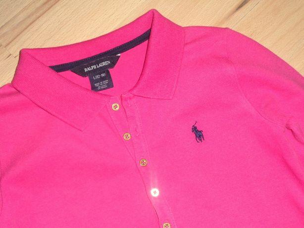 RALPH LAUREN oryginalna różowa sukienka polo 12-14 lat - idealny stan