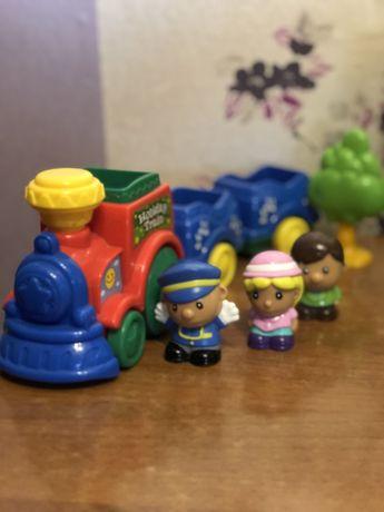 Музыкальная Детская железная дорога для самых маленьких