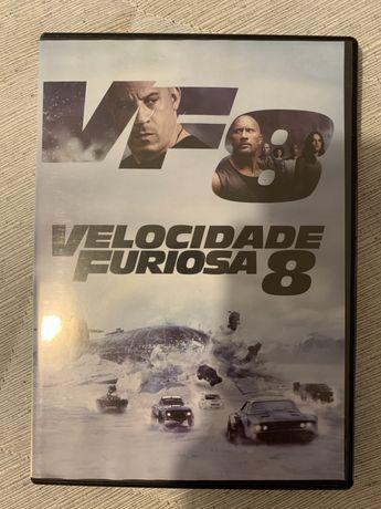 Filme DVD Velocidade Furiosa 8