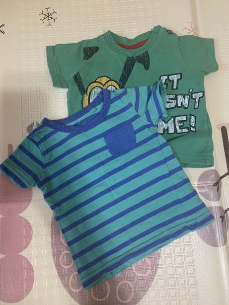 Детские футболки. 3-6 месяцев