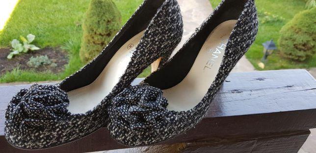 Женские туфли CHANEL, оригинал, размер 37-37,5