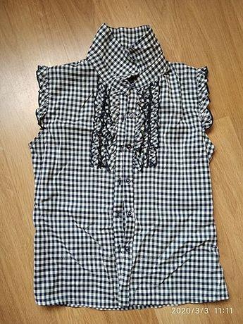 Блузка без рукава