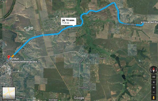 Продаж земельної ділянки під забудову, Рівне, Радиславка