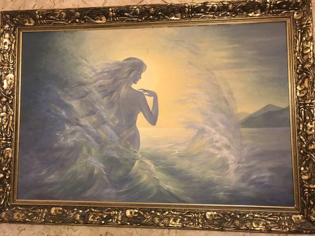 Картина Рождение Афродиты народной художницы Ларисы Химич