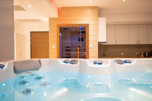 Luksusowe, romantyczne apartamenty z prywatym Jacuzzi i sauną.