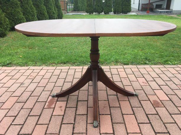 angielski stół rozkładany na lwich łapach