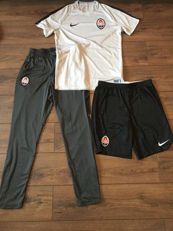 Тренировочный комплект ФК Шахтер (футболка, шорты, штаны) FC Shakhtar