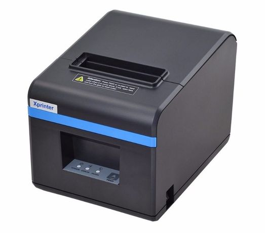 Чековый POS принтер Xprinter XP-N160II USB LAN термопринтер чеков 80мм