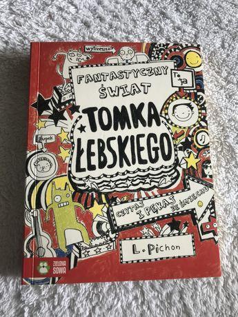 Książka Fantastyczny świat Tomka Łebskiego