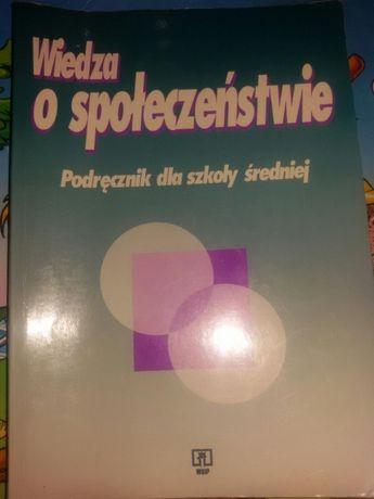 Książka Wiedza o społeczeństwie pod red. K.A. Wojtaszczaka