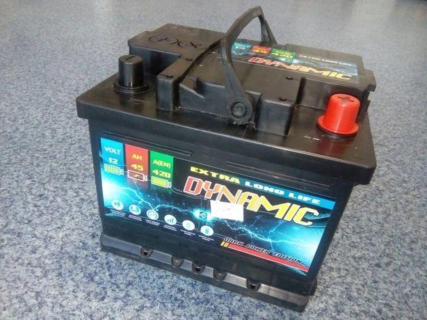 Akumulator DYNAMIC 12V 45Ah 420A Jasło
