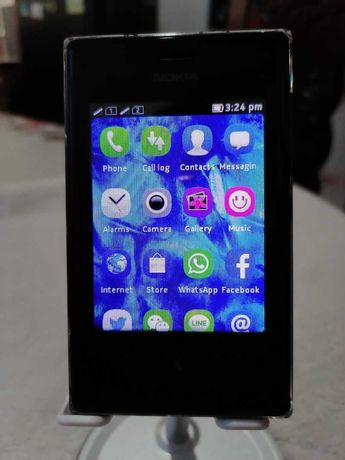Nokia Asha 503 com carregador