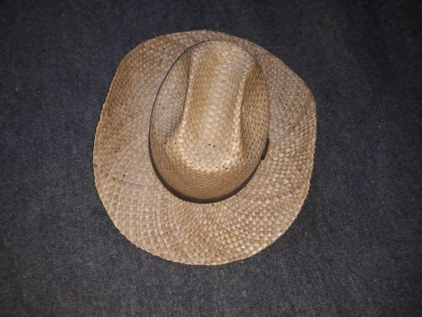 kapelusz western słomkowy
