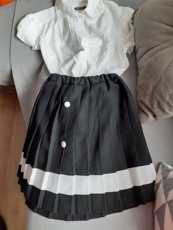 Komplet: spódniczka i bluzka 8zł za szt