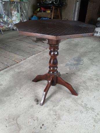 Stolik kawowy drewno antyk