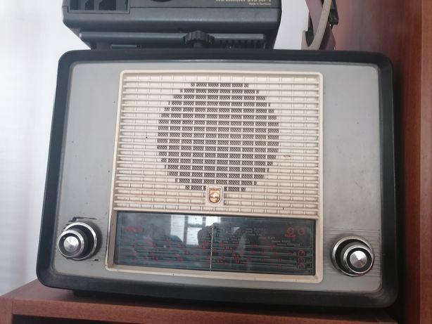Rádio de válvulas philips