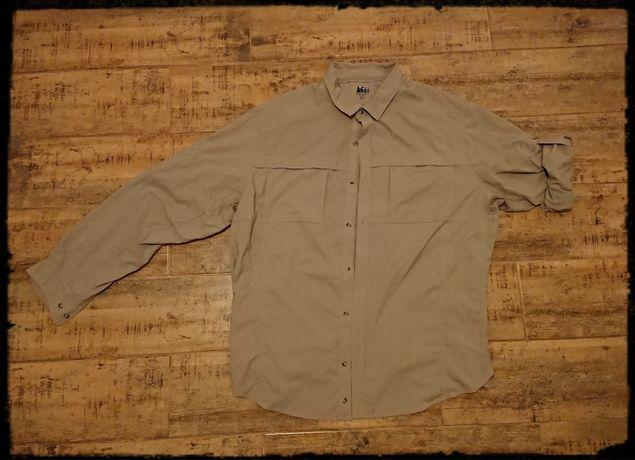 Koszula trekkingowa turystyczna rei b.lekka xxl nylon