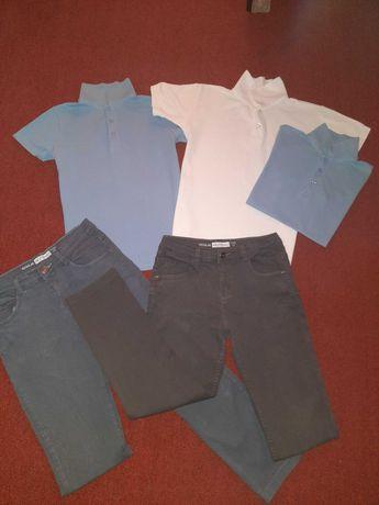 Комплект лот одежды для подростка 146-152 поло Next гольф куртка