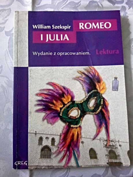 Romeo i Julia, William Szekspir, Wydawnictwo Greg, Lektura,