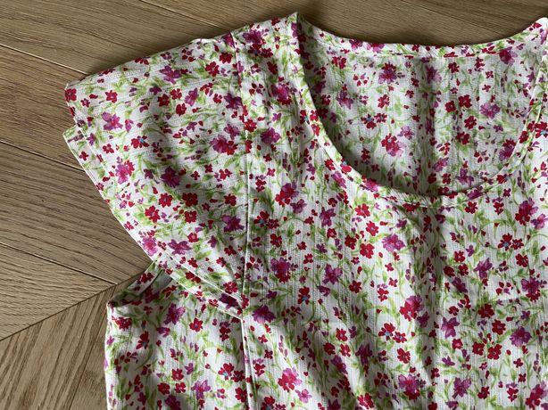 Dziewczęca bawełniana sukienka ciążowa