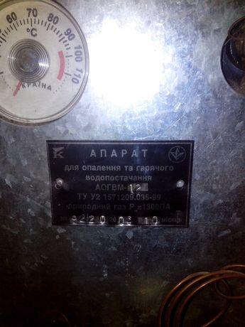 Продам котел АТОН АОГВМ-12