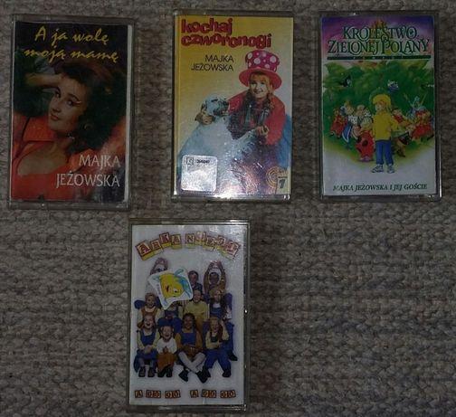 Majka Jeżowska - kasety